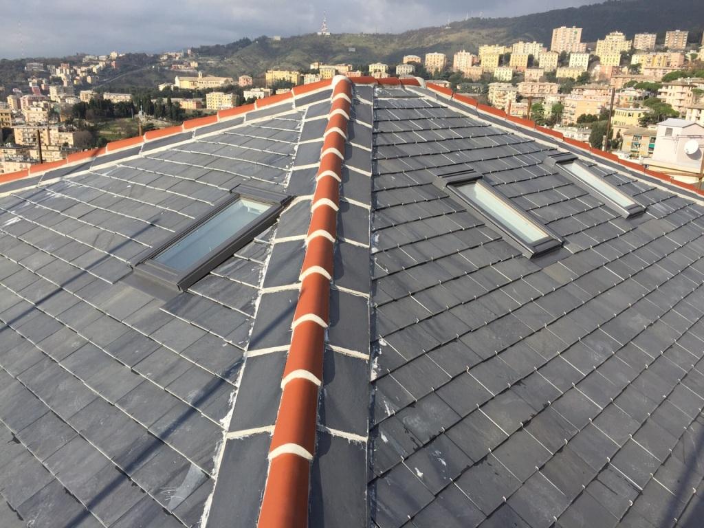 Quanto Costa Rifare Il Tetto tetti in ardesia a ganci